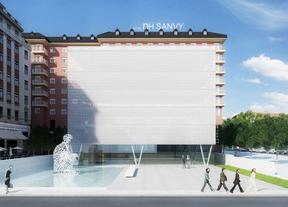 Infografía con el aspecto de la plaza.