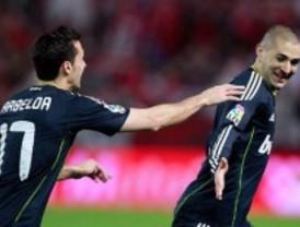El Madrid gana gracias al mágico Benzema