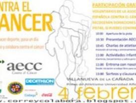 Decenas de corredores desafían las temperaturas en una carrera solidaria contra el cáncer