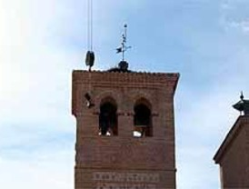 Instaladas las campanas de la Iglesia de San Cristóbal de Boadilla