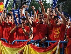 Un estallido de euforia recorrió Madrid