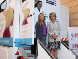 Aguirre pide a las mujeres que se hagan mamografías
