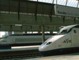 Transbordados los pasajeros de un AVE Madrid-Sevilla por una avería