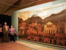 Un óleo único para el Museo de América