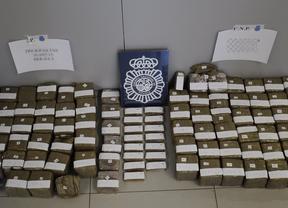 Intervienen 76 kilos de hachís tras una persecución policial en Móstoles