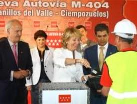 Aguirre construirá más infraestructuras pese a la crisis