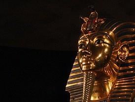 Dentro de la tumba del último faraón