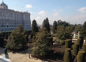 Los célebres jardines de Sabatini