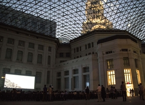 Vuelve el 'pop-up' del verano: el cine de Cibeles