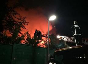 Arde en Alcobendas el chalé del presidente del Córdoba