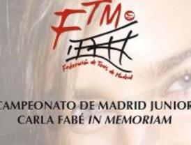 Campeonato de Tenis Junior de Madrid en memoria de Carla Fabé