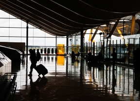 Los pasajeros del aeropuerto de Barajas aumentaron un 9% en abril