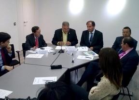Pablo Gómez-Tavira en la Embajada de Colombia
