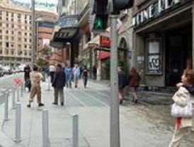 Gallardón propone ampliar el espacio peatonal de la Gran Vía y comprar un cine