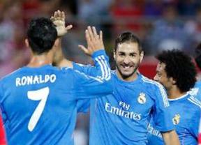 Benzema decide el partido contra el Granada