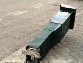Los vecinos de Carabanchel denuncian que se multan coches cerca de un parquímetro roto