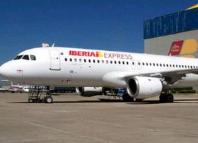 Avión de la compañía Iberia Express