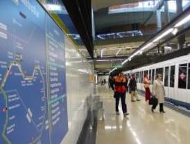 La estación de Metro Pradillo cerrará dos horas el viernes