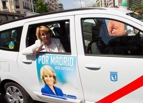 Cada taxista cobrará 50 euros por llevar publicidad del PP durante 15 días