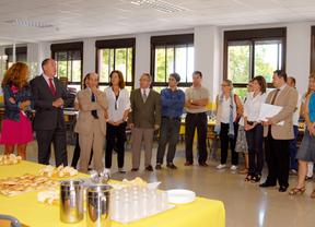 El alcalde inaugura el curso escolar con los directores del municipio