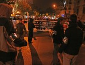 Cientos de antifascistas contra la