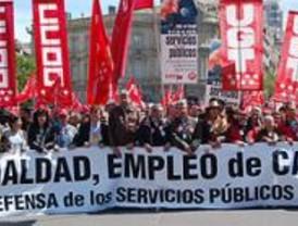 Miles de personas se manifiestan por el empleo de calidad y la igualdad laboral