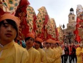 Madrid celebra el año nuevo dedicado al tigre