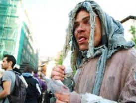 El movimiento 'Yo no pago' protesta en Sol
