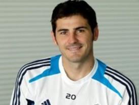 Casillas, 13 años en el club blanco
