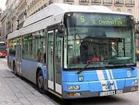 Desciende en Madrid un 4,27% los usuarios del autobús