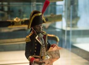 Miniatura de Federico Gravina, Capitán General de la Real Armada en 1805,, en la exposición