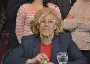 Dirigentes de IU piden el voto para la candidatura de Manuela Carmena