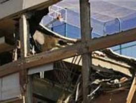 Se viene abajo, sin víctimas, parte del techo del Colegio Sagrado Corazón