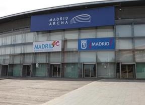 Entrada del Madrid Arena.