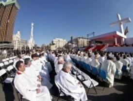 La Iglesia carga contra el aborto, la eutanasia y el matrimonio homosexual en la Misa de las Familias