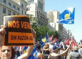 Marcha por la vigencia de los convenios colectivos
