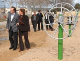 Quijorna estrena parque biosaludable para mayores