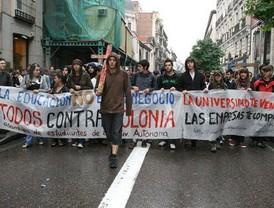 El Plan Bolonia levanta a los universitarios