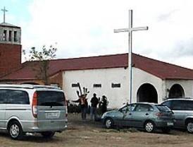 Saquean la parroquia de la Cañada Real
