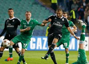 Benzema sale al rescate del Madrid