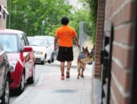 Carrera de 'perros y dueños' en Villalba