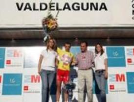 Ángel Vicioso, ganador de la primera etapa de la Vuelta Ciclista a la Comunidad de Madrid