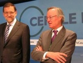 Rajoy augura unas cifras de paro en mayo