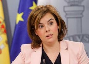Sáenz de Santamaría dice que en Madrid se ven