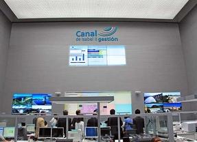 Centro Principal de Control del Canal de Isabel II Gestión