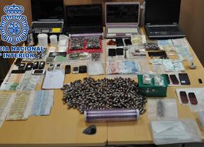 Nueve detenidos por tráfico de drogas en Coslada