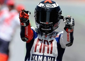 Lorenzo, muy superior a Márquez, gana en Cataluña