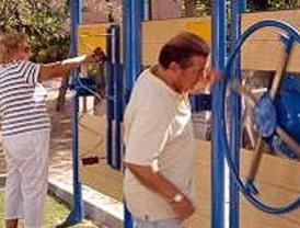 Nueva área de ejercicio para mayores en Tetuán