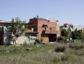 Concentración en Cibeles de los vecinos de la Cañada Real