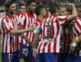 El Atlético sufre para ganar al Zaragoza